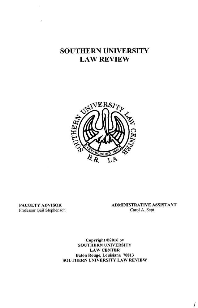 handle is hein.journals/soulr44 and id is 1 raw text is: 