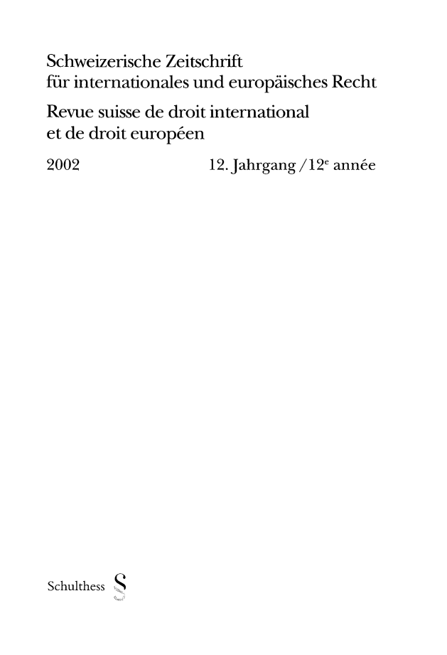 handle is hein.journals/sriel2002 and id is 1 raw text is: 