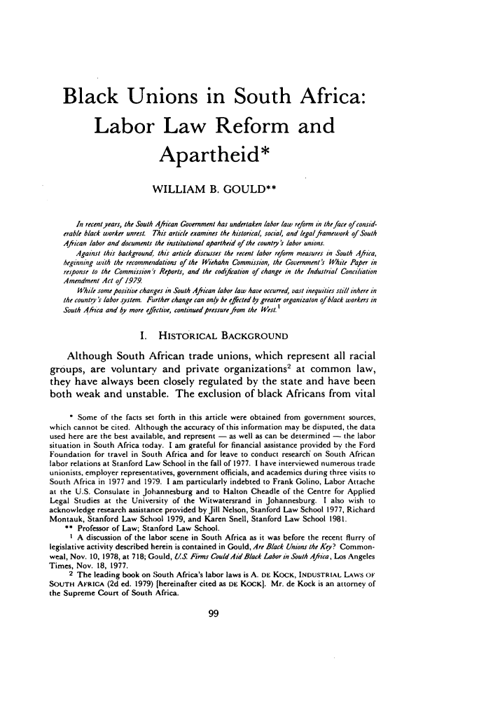 local government and labor law reforms Estlund uses the comparative lens of american experiences with industrial conflict and industrial relations reform to illuminate the problem of labor unrest and the chinese government's responses to it.