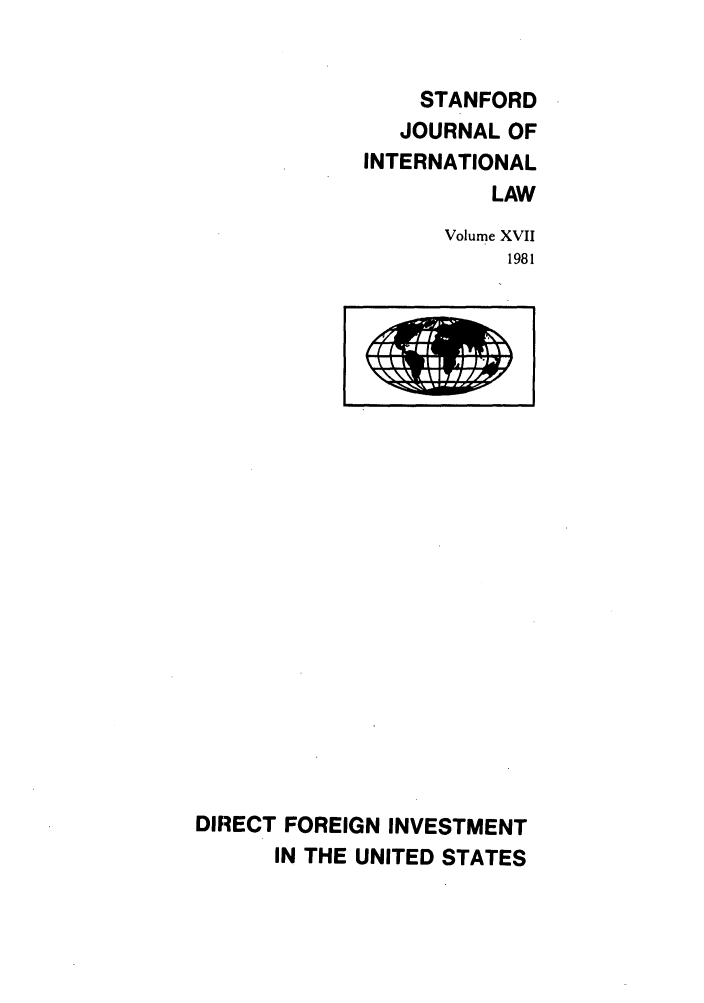 handle is hein.journals/stanit17 and id is 1 raw text is: STANFORD