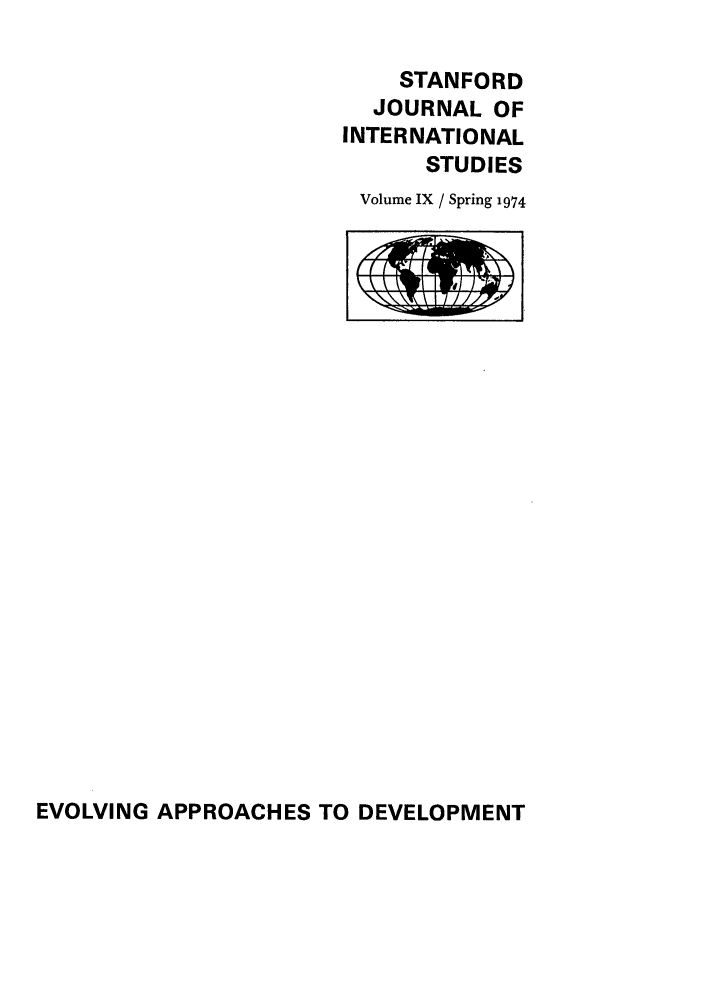 handle is hein.journals/stanit9 and id is 1 raw text is: STANFORD