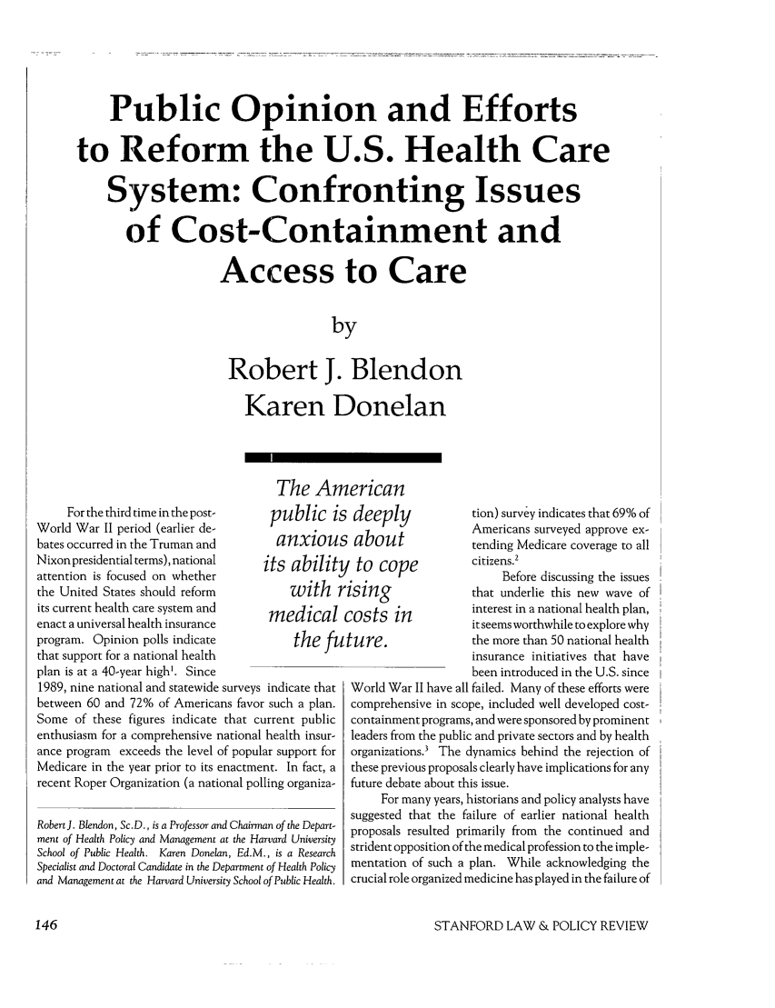 handle is hein.journals/stanlp3 and id is 148 raw text is: Public Opinion and Efforts