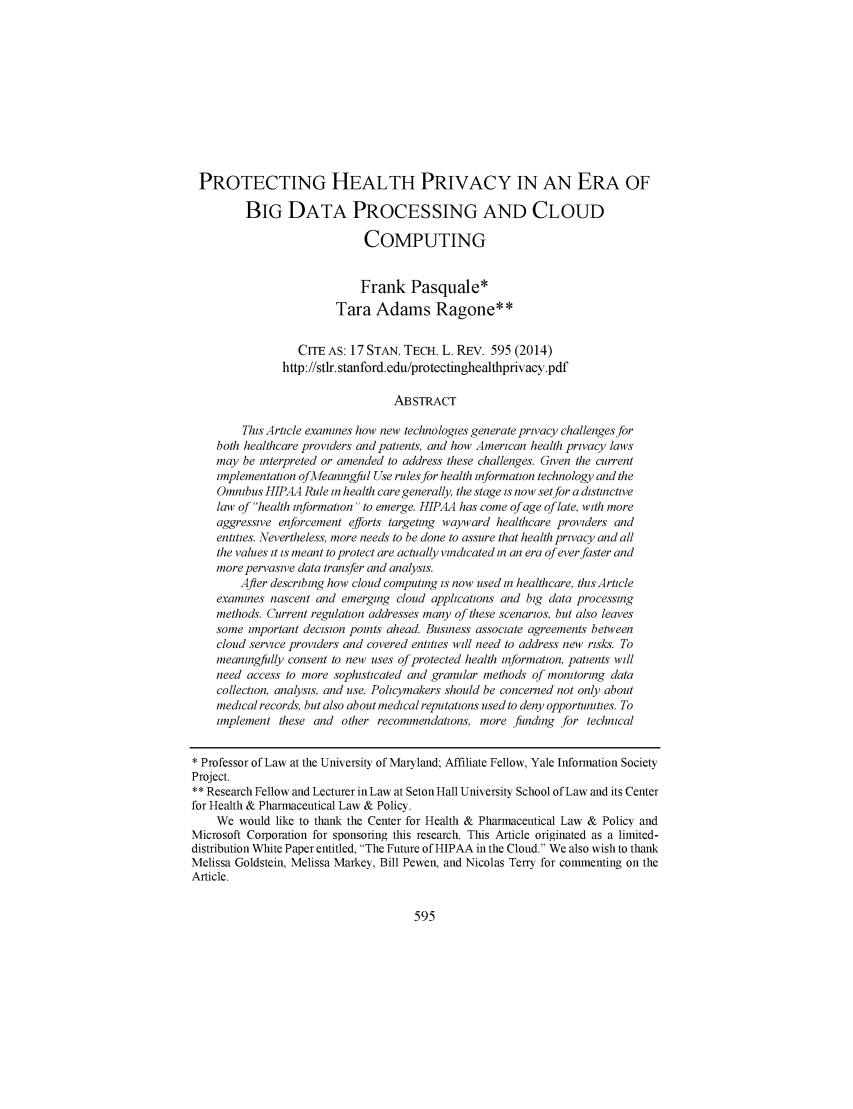 handle is hein.journals/stantlr17 and id is 594 raw text is: 