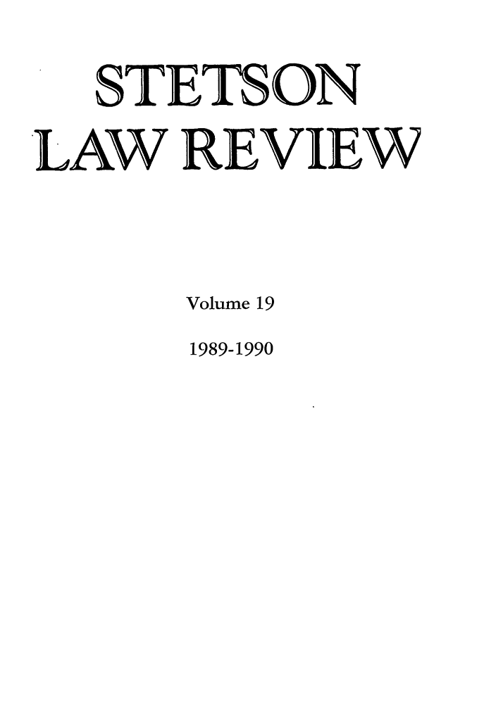 handle is hein.journals/stet19 and id is 1 raw text is: STETS ON