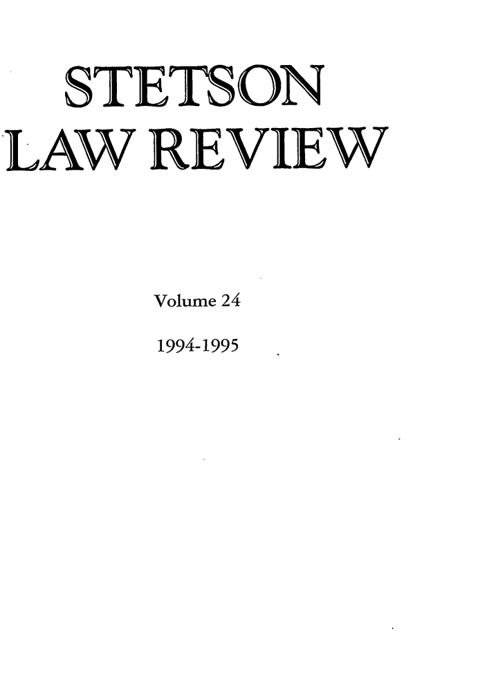 handle is hein.journals/stet24 and id is 1 raw text is: STETS ON