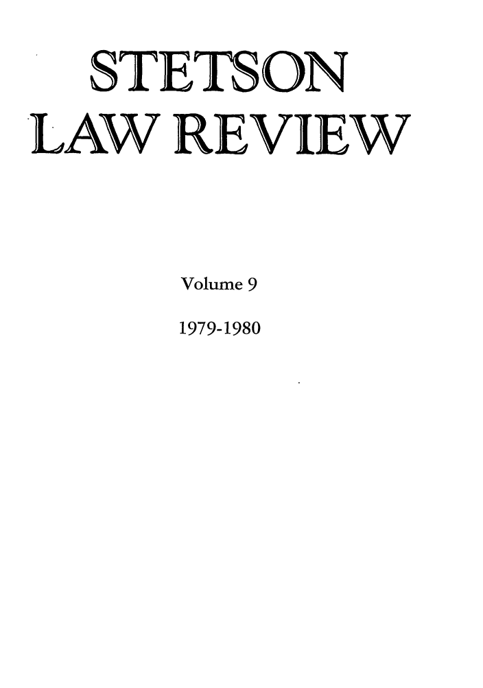 handle is hein.journals/stet9 and id is 1 raw text is: STETS ON