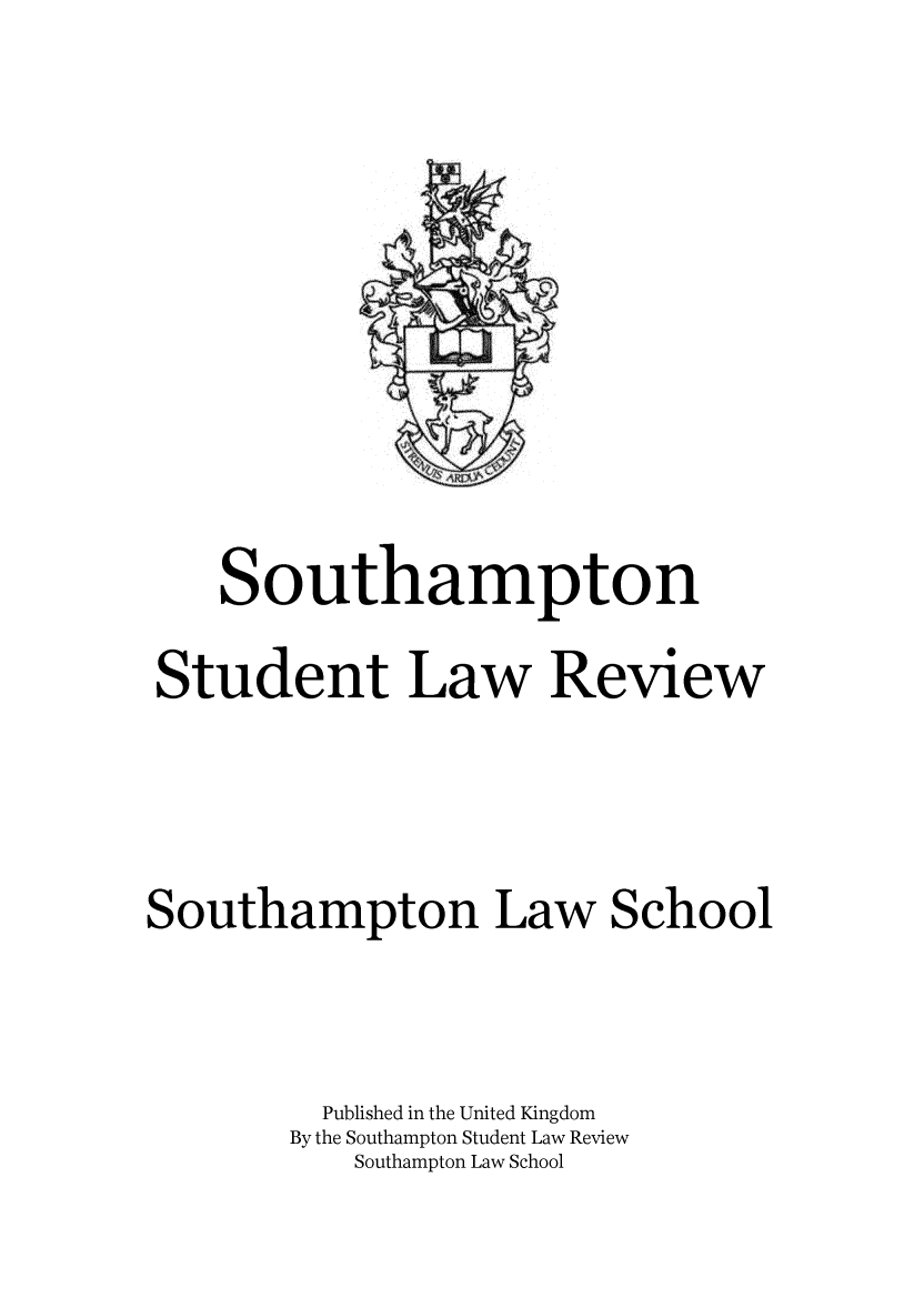handle is hein.journals/sthmpstul6 and id is 1 raw text is: 