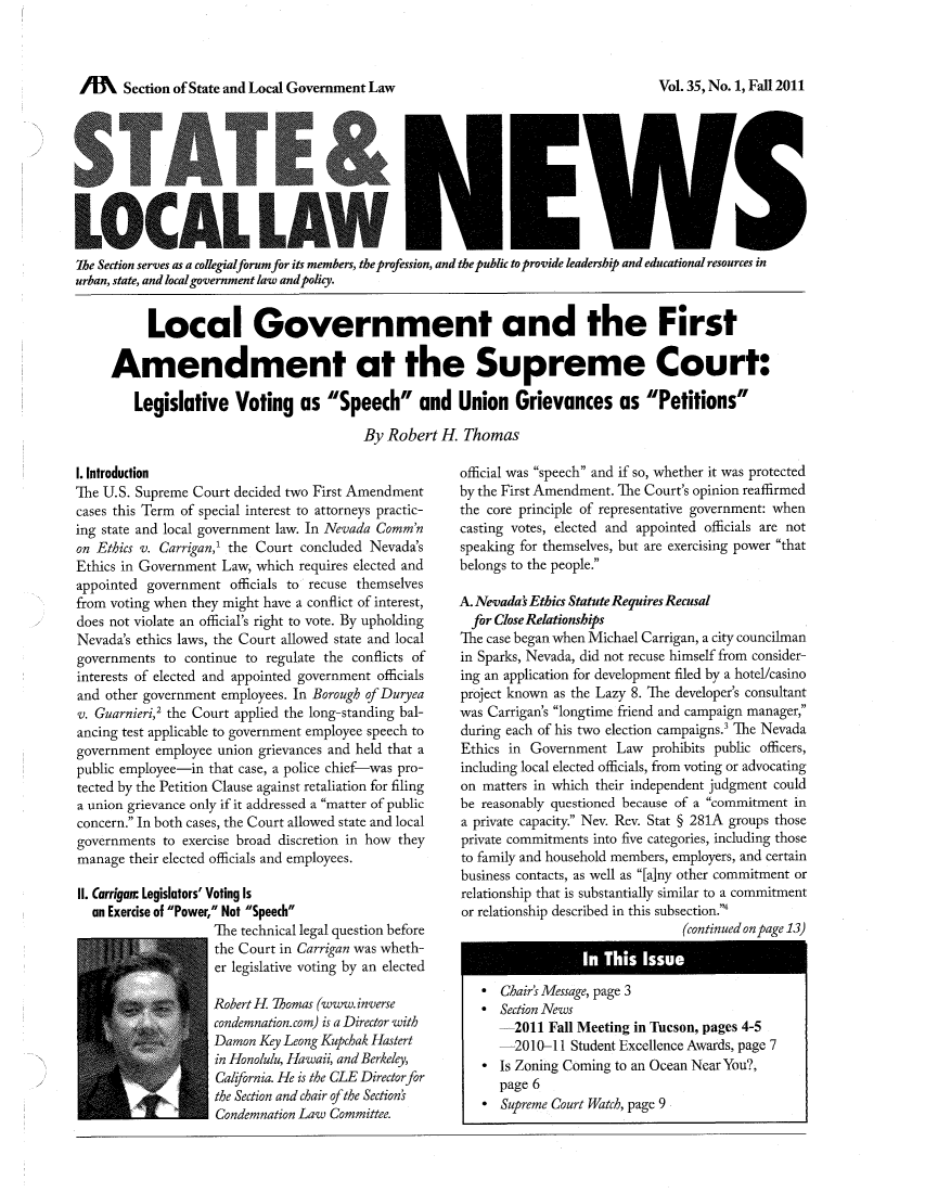 handle is hein.journals/stlolane35 and id is 1 raw text is: lffl   Section of State and Local Government Law