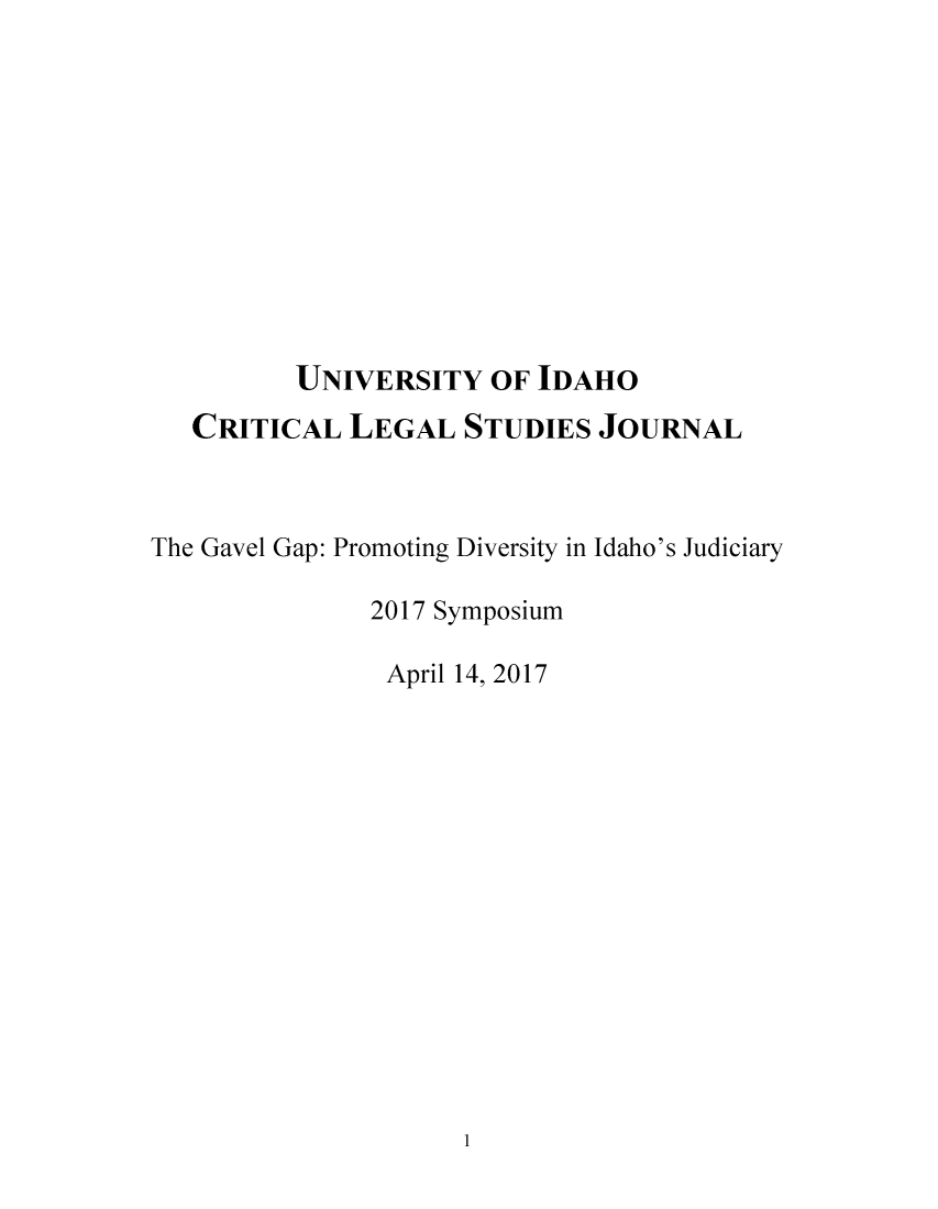 handle is hein.journals/tcrit11 and id is 1 raw text is: 