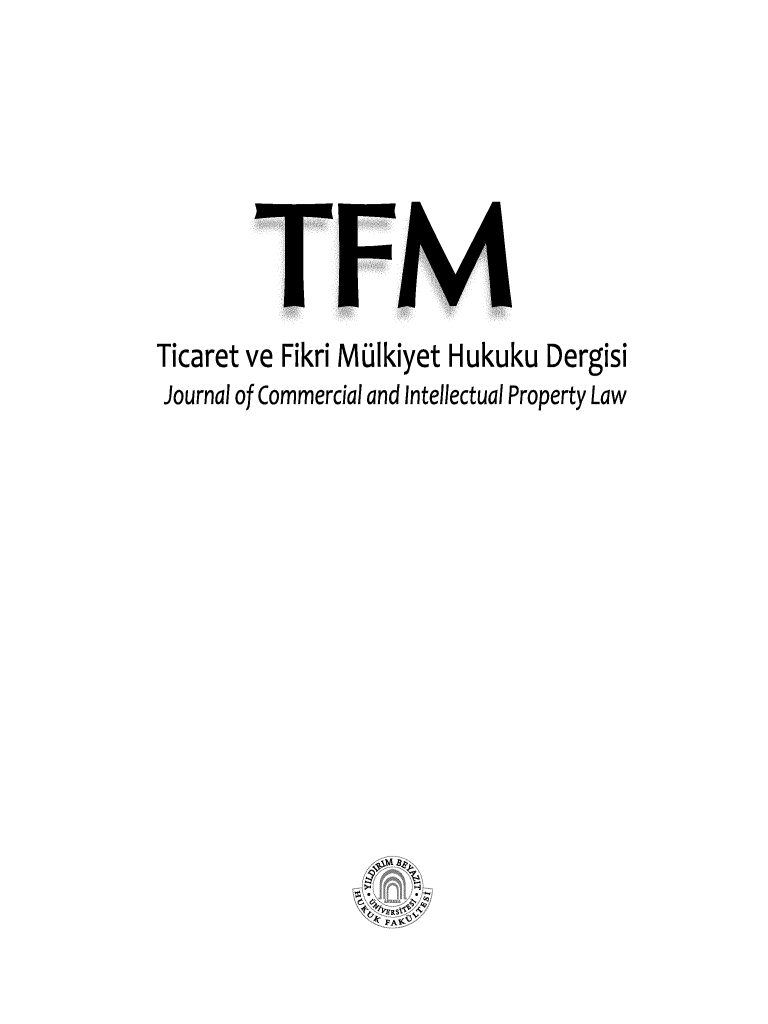 handle is hein.journals/tfm2015 and id is 1 raw text is: 