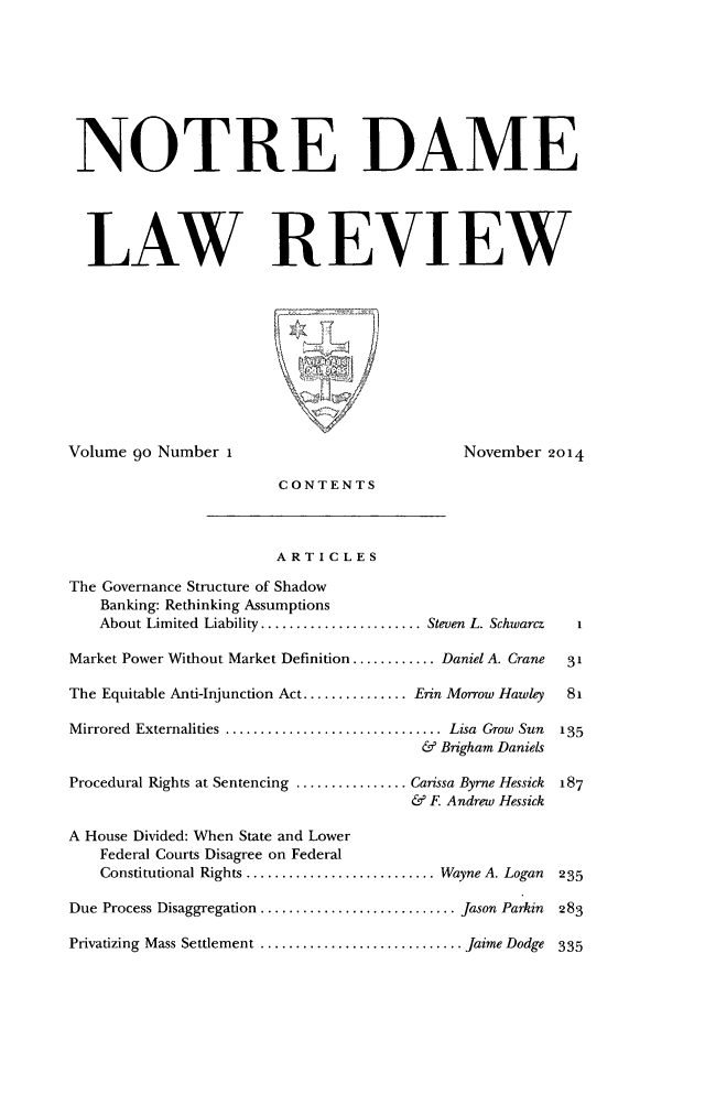 handle is hein.journals/tndl90 and id is 1 raw text is: 