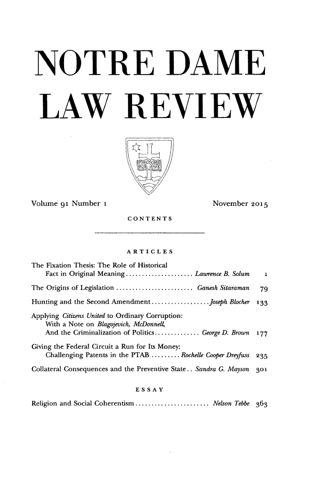 handle is hein.journals/tndl91 and id is 1 raw text is: 