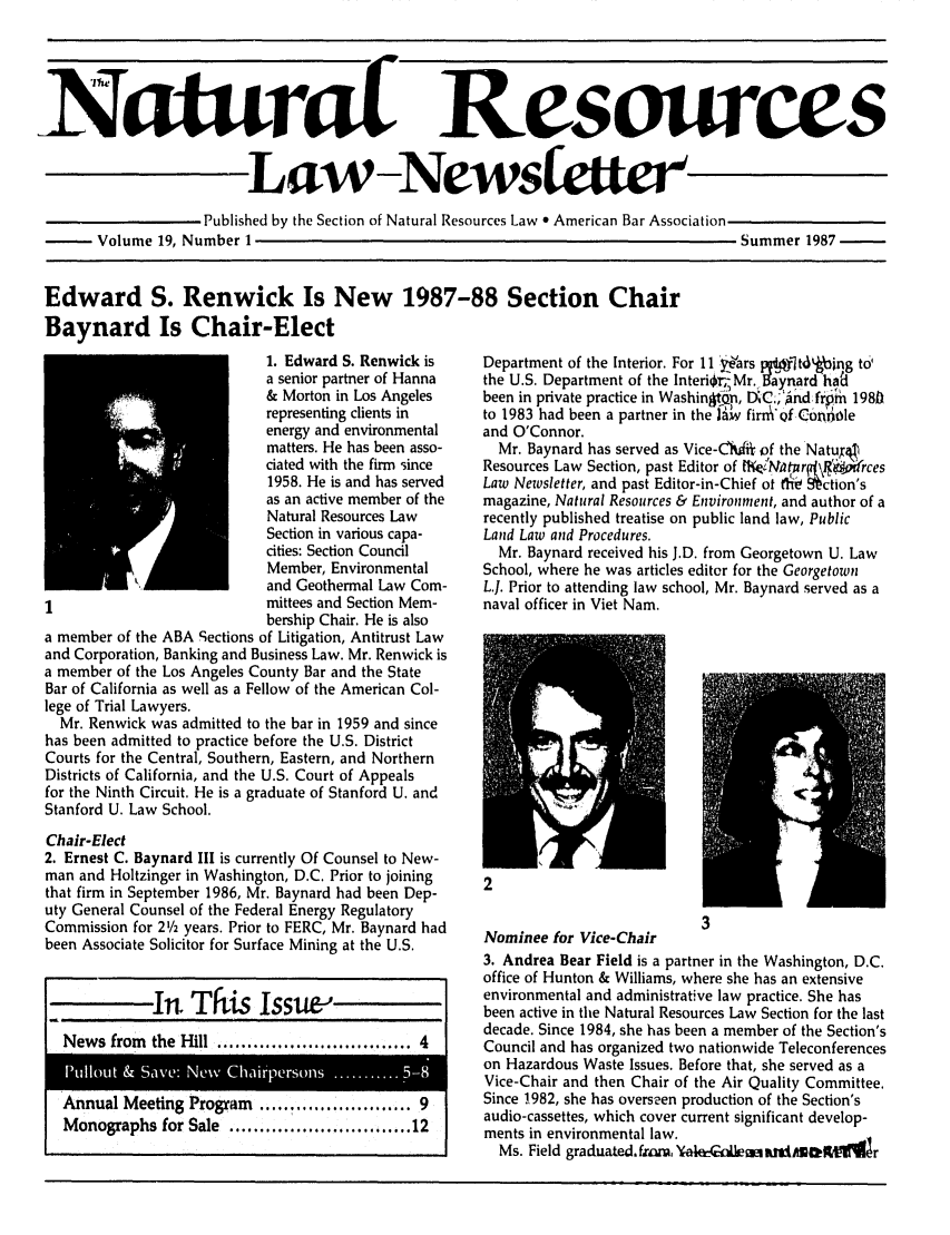 handle is hein.journals/trends19 and id is 1 raw text is: 
