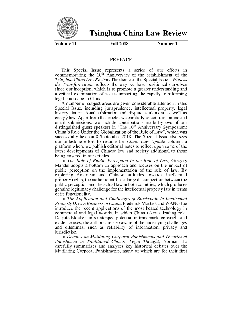 handle is hein.journals/tsinghua11 and id is 1 raw text is: 