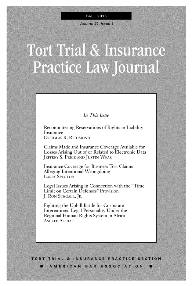 handle is hein.journals/ttip51 and id is 1 raw text is: 