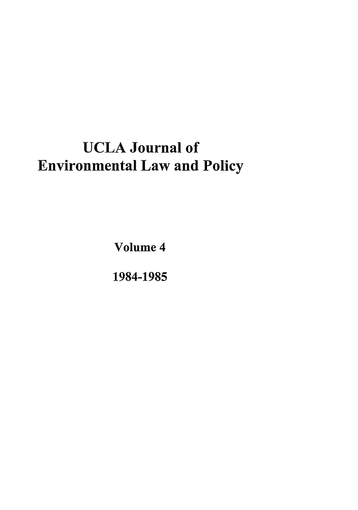handle is hein.journals/uclalp4 and id is 1 raw text is: UCLA Journal of