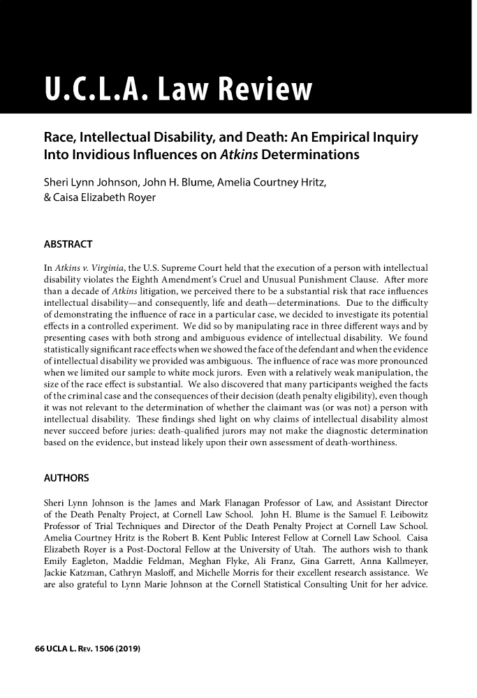 handle is hein.journals/uclalr66 and id is 1558 raw text is: 
