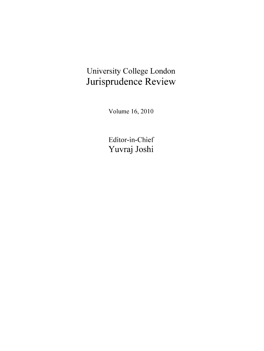 handle is hein.journals/ucljurev17 and id is 1 raw text is: University College London