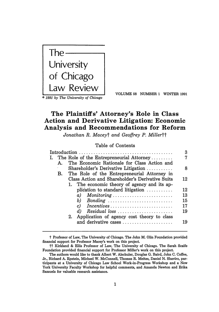 handle is hein.journals/uclr58 and id is 7 raw text is: University