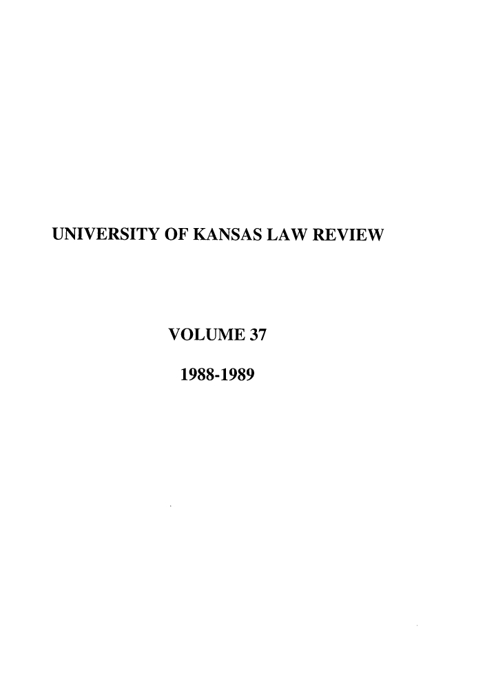 handle is hein.journals/ukalr37 and id is 1 raw text is: 