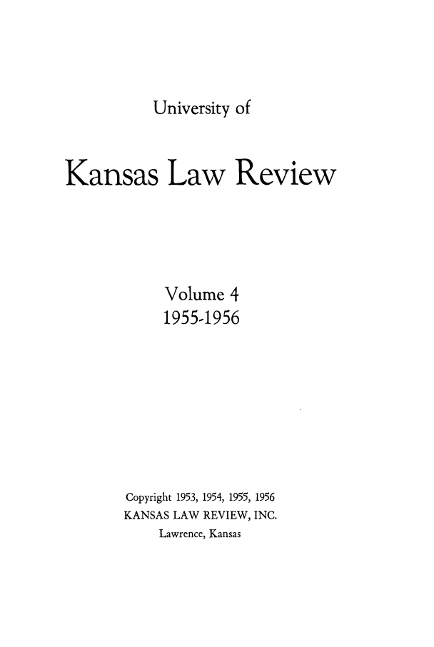 handle is hein.journals/ukalr4 and id is 1 raw text is: University of