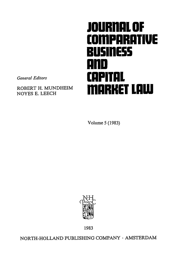 handle is hein.journals/upjiel5 and id is 1 raw text is: JOURNALOF