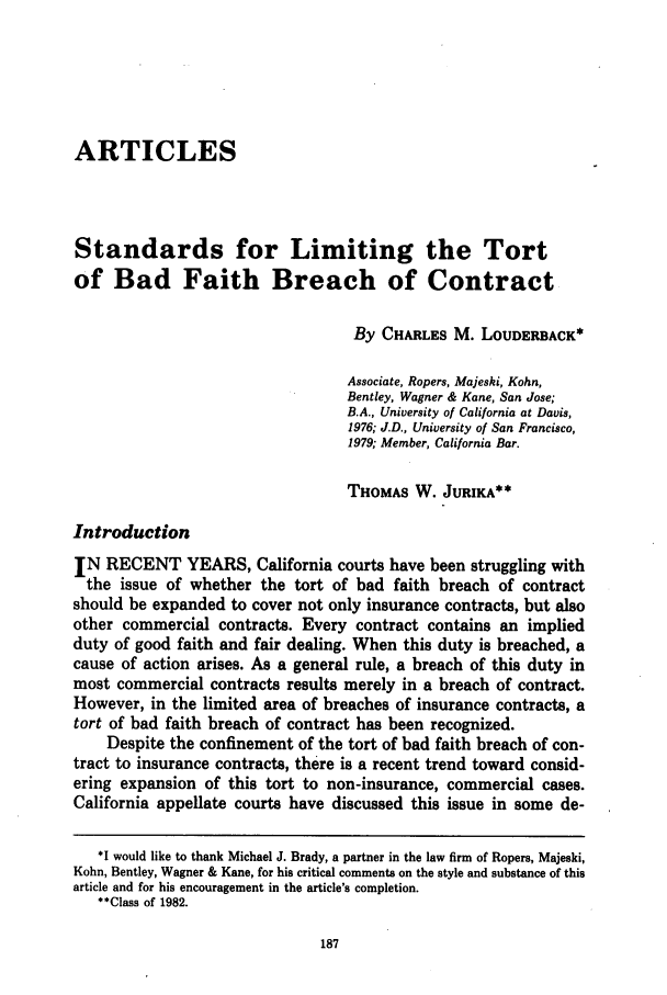 handle is hein.journals/usflr16 and id is 197 raw text is: ARTICLES