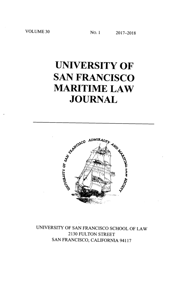 handle is hein.journals/usfm30 and id is 1 raw text is: 