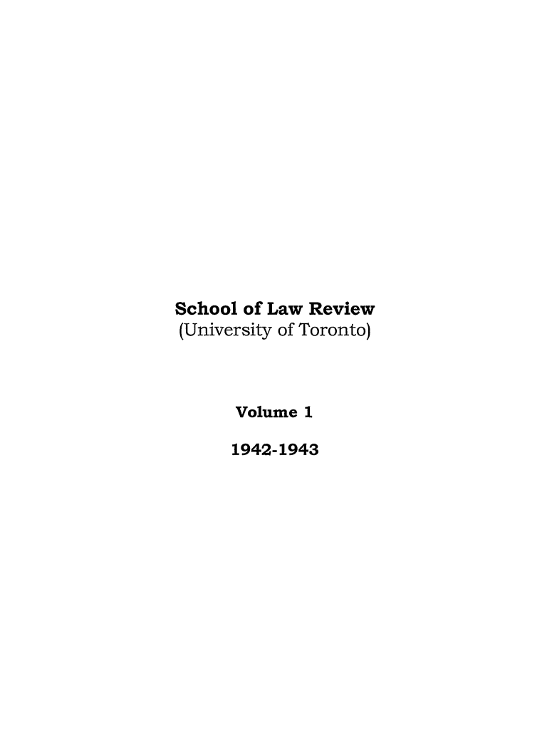 handle is hein.journals/utflr1 and id is 1 raw text is: School of Law Review