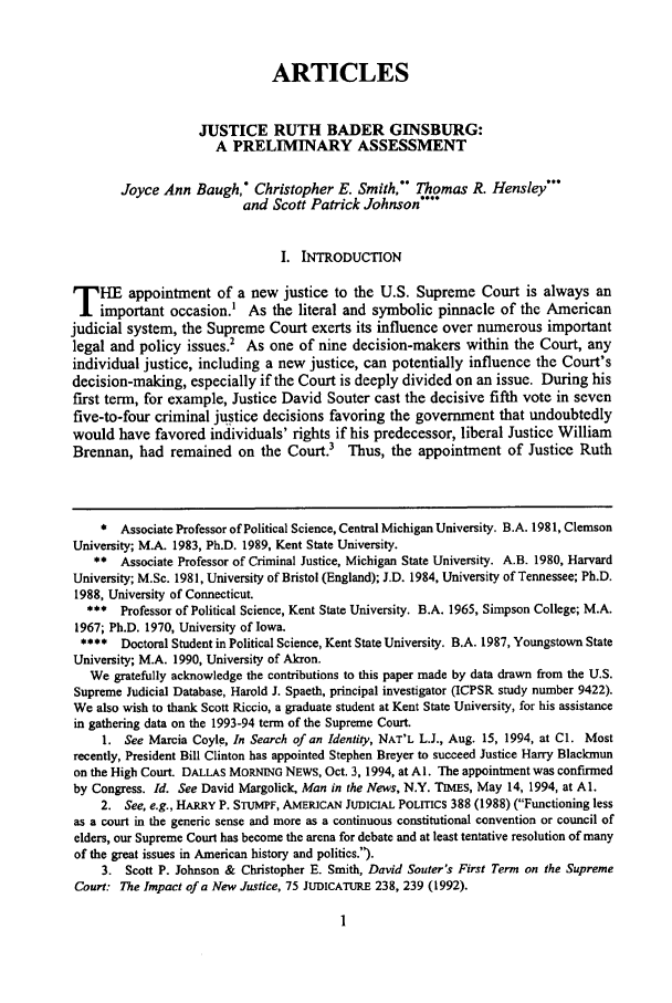 handle is hein.journals/utol26 and id is 11 raw text is: ARTICLES