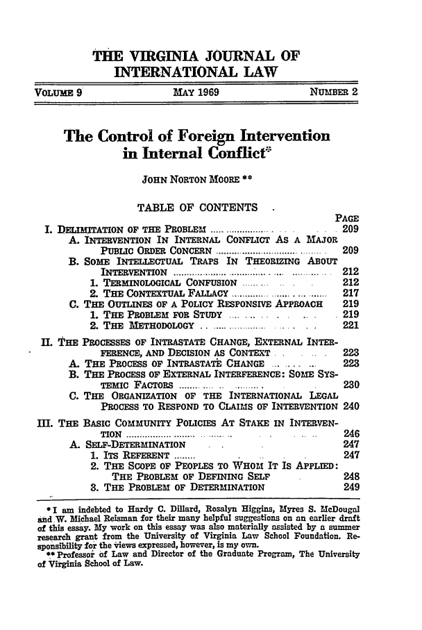 handle is hein.journals/vajint9 and id is 211 raw text is: THE VIRGINIA JOURNAL OF