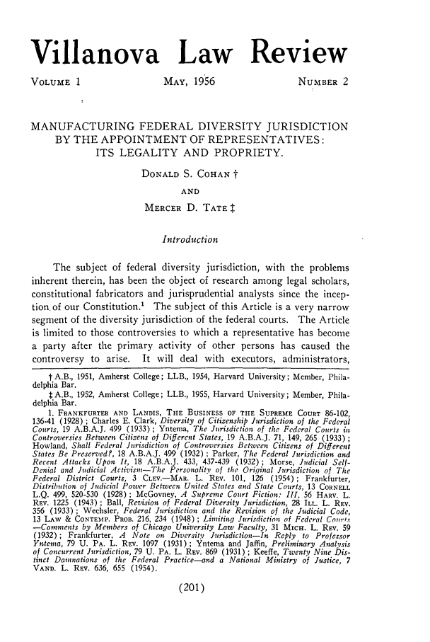handle is hein.journals/vllalr1 and id is 211 raw text is: Villanova Law Review
