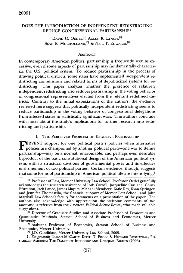 handle is hein.journals/vllalr54 and id is 67 raw text is: 2009]