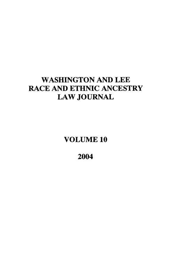 handle is hein.journals/walee10 and id is 1 raw text is: WASHINGTON AND LEE