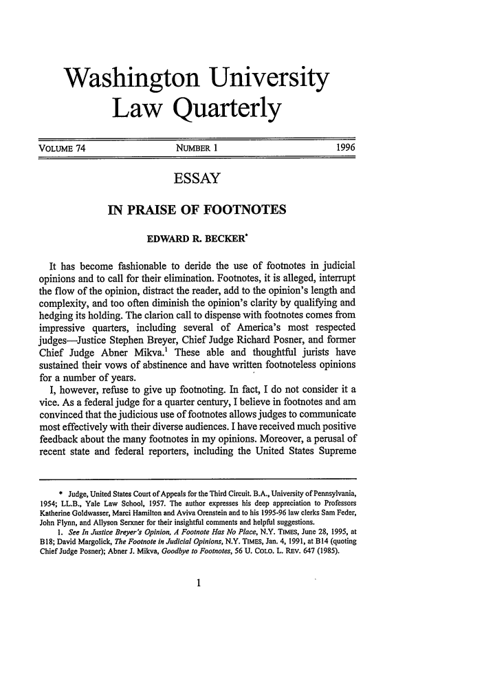 How to use footnotes in an essay