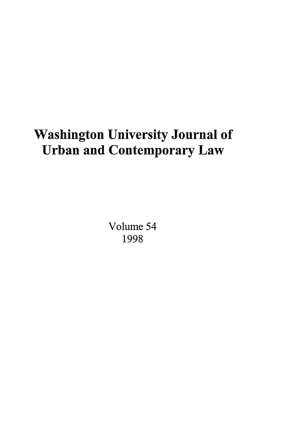 handle is hein.journals/waucl54 and id is 1 raw text is: Washington University Journal of
