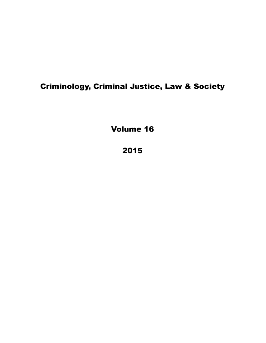 handle is hein.journals/wescrim16 and id is 1 raw text is: 