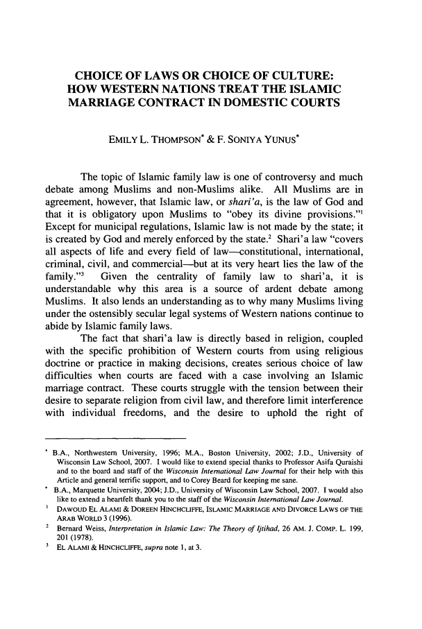 Theory of islamic contract College paper Sample