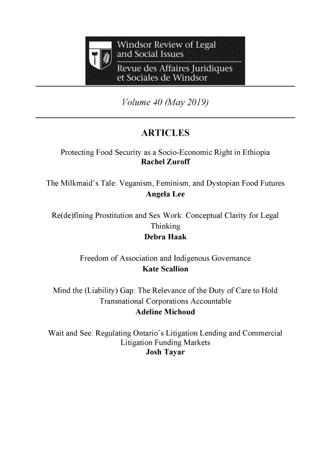 handle is hein.journals/wrlsi40 and id is 1 raw text is: 