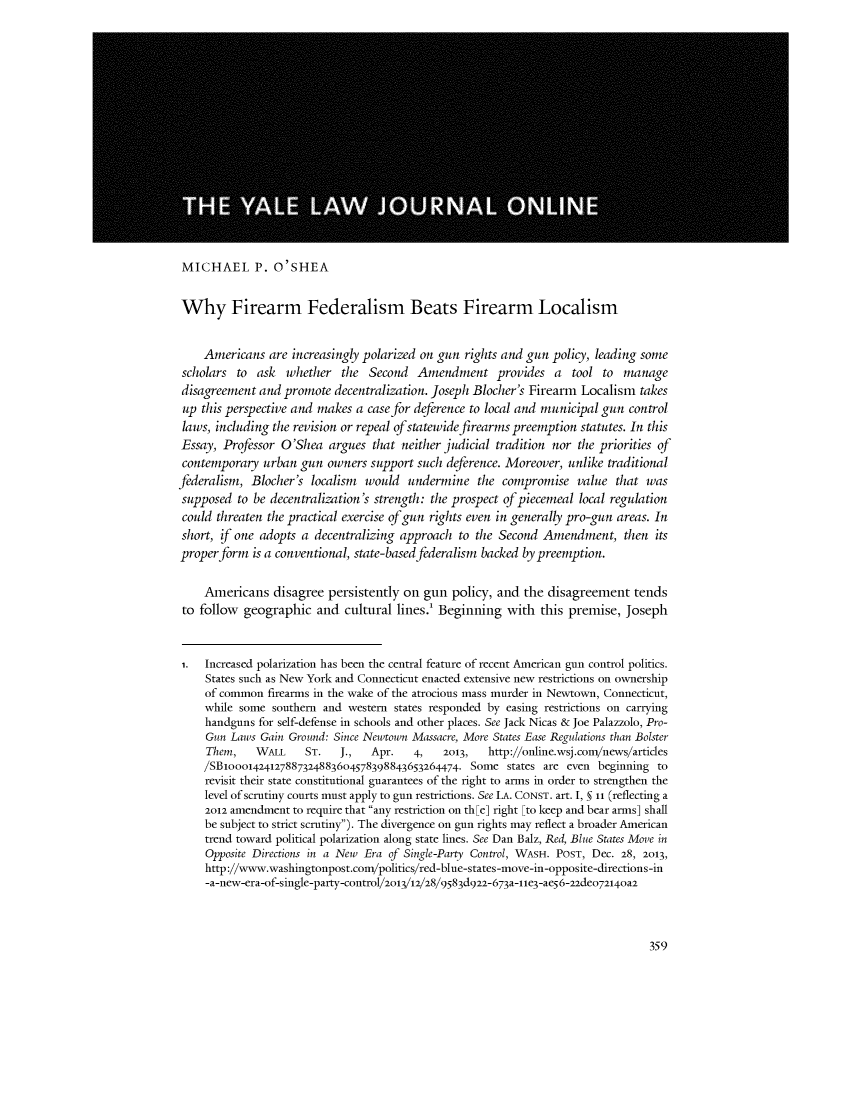 handle is hein.journals/yljfor123 and id is 251 raw text is: 