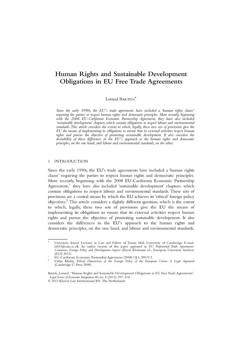handle is hein.kluwer/liei0040 and id is 317 raw text is: Human Rights and Sustainable Development