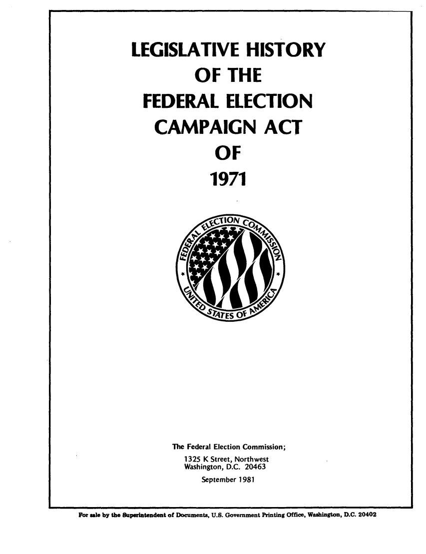handle is hein.leghis/fedecat0008 and id is 1 raw text is: LEGISLATIVE HISTORY