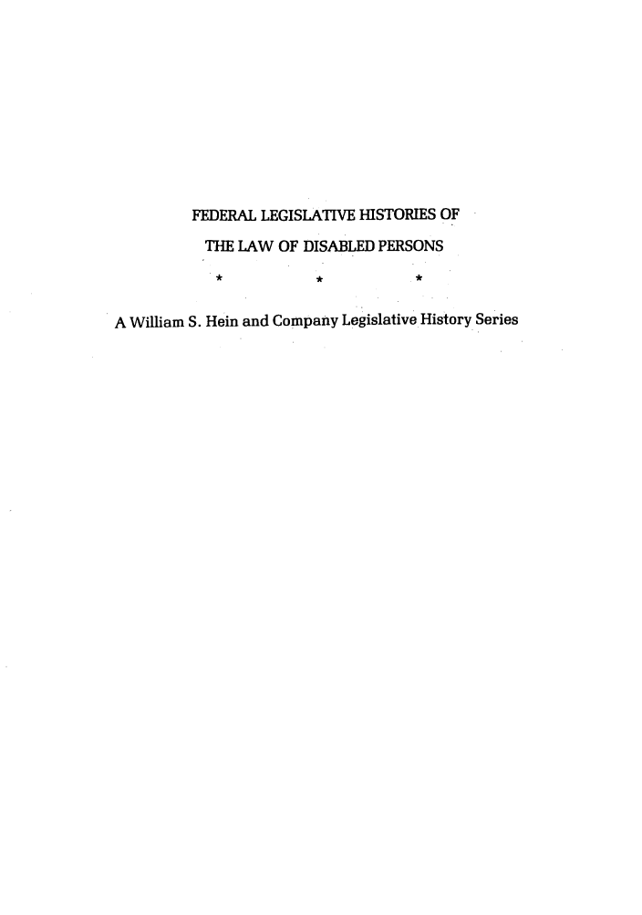 handle is hein.leghis/felamenh0002 and id is 1 raw text is: FEDERAL LEGISLATIVE HISTORIES OF