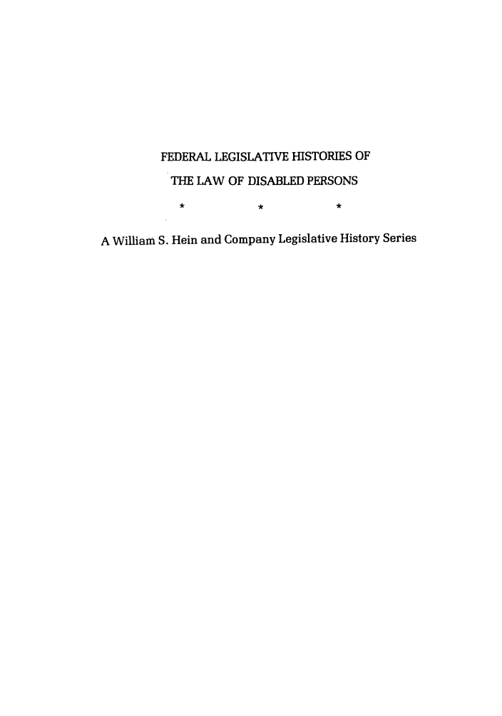 handle is hein.leghis/felamenh0003 and id is 1 raw text is: FEDERAL LEGISLATIVE HISTORIES OF