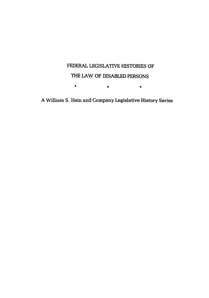handle is hein.leghis/felamenh0005 and id is 1 raw text is: FEDERAL LEGISLATIVE HISTORIES OF