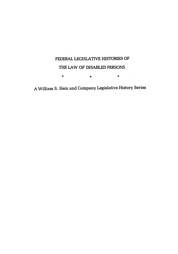 handle is hein.leghis/felamenh0006 and id is 1 raw text is: FEDERAL LEGISLATIVE HISTORIES OF