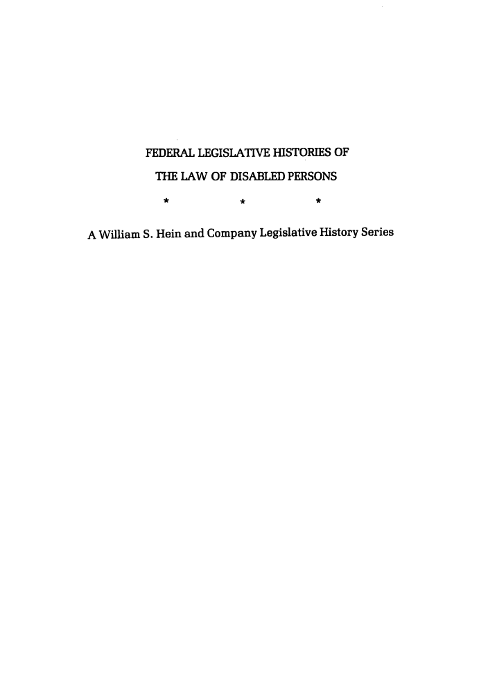 handle is hein.leghis/felamenh0008 and id is 1 raw text is: FEDERAL LEGISLATIVE HISTORIES OF