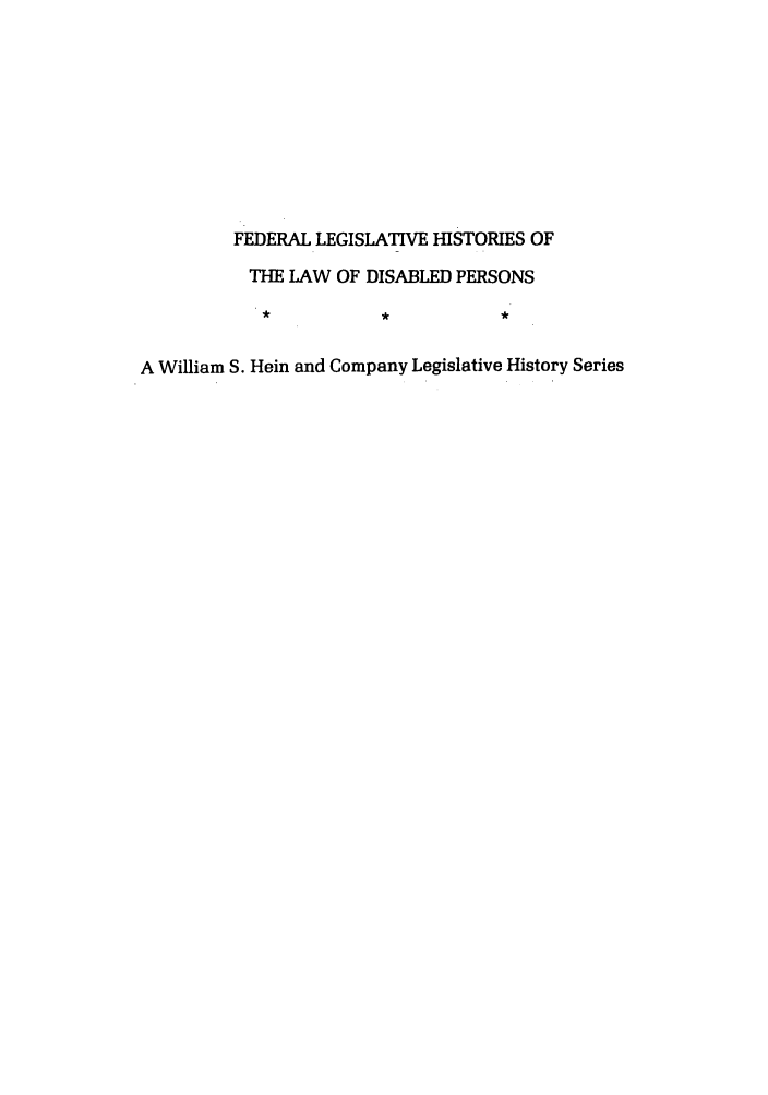 handle is hein.leghis/felamenh0021 and id is 1 raw text is: FEDERAL LEGISLATIVE HISTORIES OF