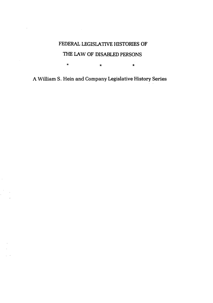handle is hein.leghis/felamenh0030 and id is 1 raw text is: FEDERAL LEGISLATIVE HISTORIES OF