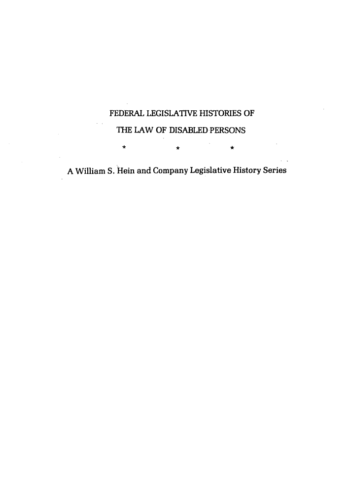 handle is hein.leghis/felamenh0041 and id is 1 raw text is: FEDERAL LEGISLATIVE HISTORIES OF